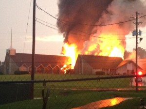 Source: http://www.alabamas13.com/story/23098076/firefighters-battle-jasper-church-fire