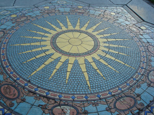 Astrology Tile Mosaic